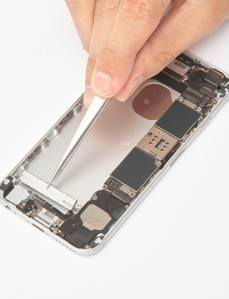 Repair of the vibromotor (Taptic) in iPhone 6s