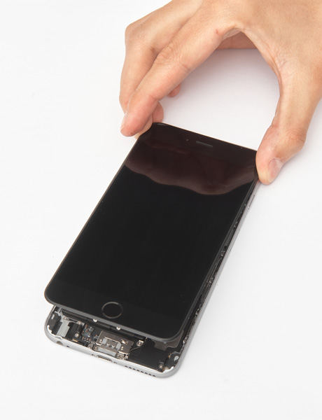 Screen glass repair for iPhone 6s Plus